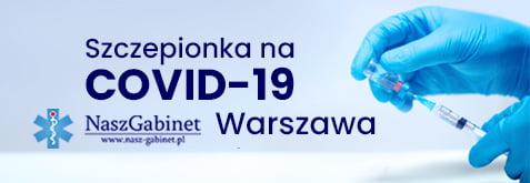 szczepionka na koronawirus - Warszawa